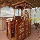 motif dan harga mimbar masjid