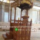 motif dan harga mimbar masjid kubah