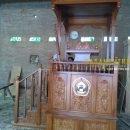 Mimbar masjid Kubah MM-028