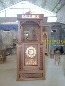 Mimbar Masjid Jati Custom Desain