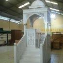 mimbar masjid, jual mimbar masjid, mimbar masjid kayu jati