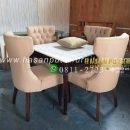 Meja makan minimalis kursi 4